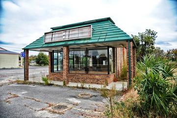 Closed Down Restaurant