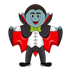 Cute Vampire Cartoon
