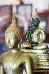 Emerald buddha statue.