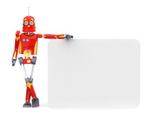 vintage retro robot board