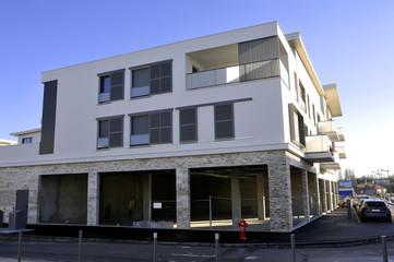 New buildings still under construction