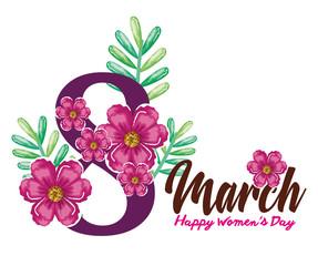 happy womens day decoration