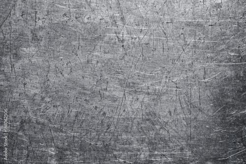 Worn Metal Sheet Texture Steel Background Dark Gray Color
