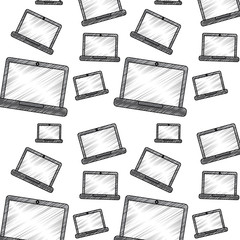 laptop computer pattern image