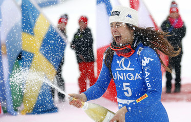Alpine Skiing - Women's Downhill