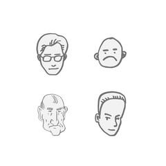 얼굴의 표정 / 손으로 그린 이모티콘 모음
