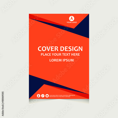 Book Cover Page Template Kalde Bwong Co
