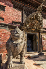 Patan Museum Entrance, Durbar Square, Lalitpur, Nepal