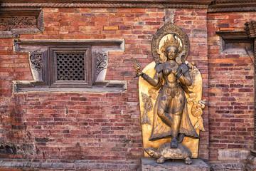 Ganga Statue, Mul Chowk, Patan Durbar Square, Lalitpur, Nepal