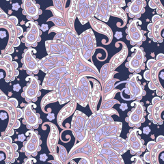 seamless Floral oriental ethnic Pattern