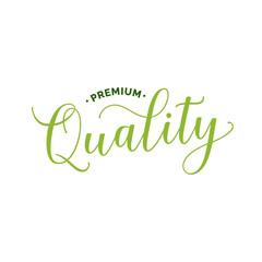 Premium Quality Lettering