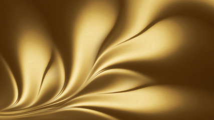 Wall Mural - abstract gold background