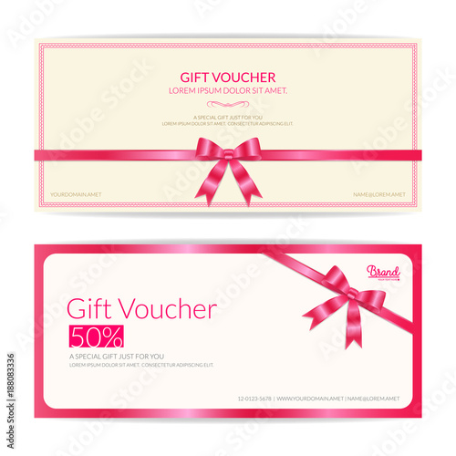 Love theme gift certificate, voucher, gift card or cash coupon ...