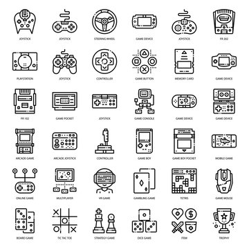 Game Technology outline icon