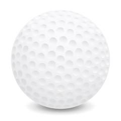 Golf ball – stock vector