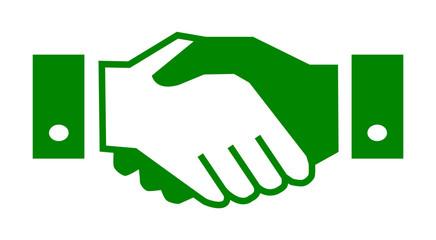 Handshake, partnership – for stock