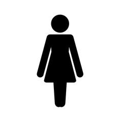 postać kobiety ikona