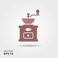 Coffee grinder icon.