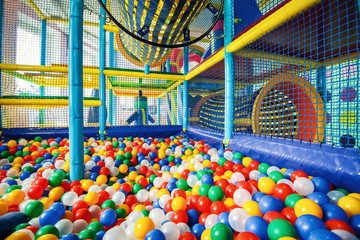 Modern children playground indoor