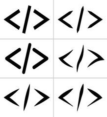 Coding Icon, Code Icon