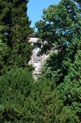 Wilhelmshoehe Castle Park in Kassel, Germany