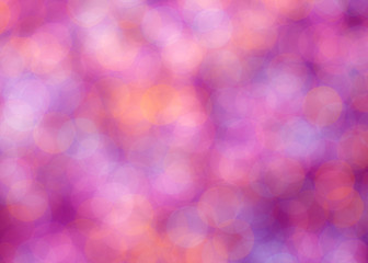 abstract romantic colorful bokeh circles for background