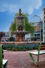 fontaine de la mairie de Limoges