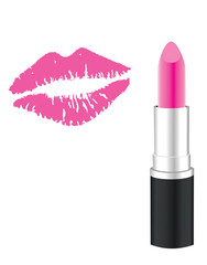 Vector Lipstick Kiss