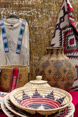 Native American Craft Fair with Traditional Goods