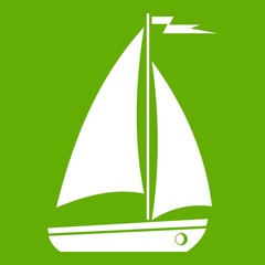 Boat icon green
