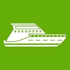 Yacht icon green