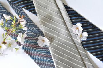 ネクタイ 桜の花