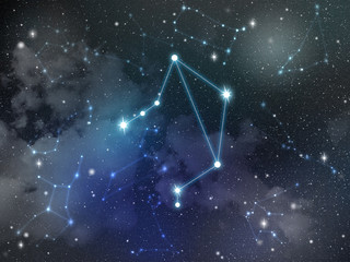 Libra constellation star Zodiac