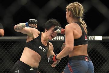 MMA: UFC Fight Night-St. Louis-VanZant vs Clark