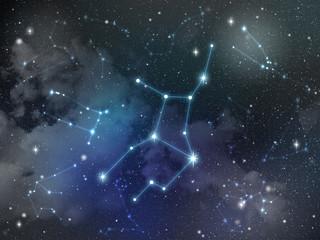 Virgo constellation star Zodiac