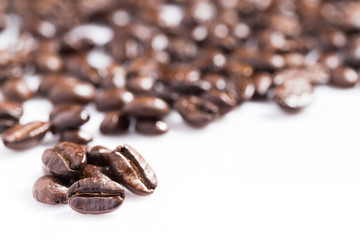 Roast coffee bean for texture and background.