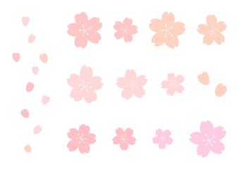 桜 イラストセット