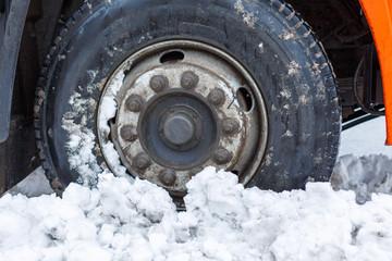 Snow-removing machine