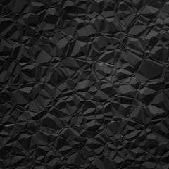 black polygon background