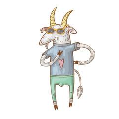 doodle goat