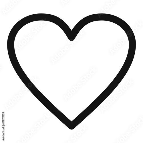 transparent black heart - HD2000×2000
