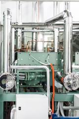 Industrial refrigerating machine.