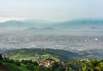 A Scenery of Bandung City