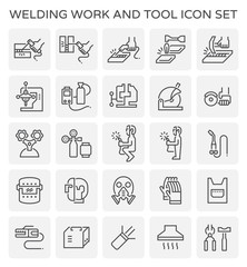 welding work icon