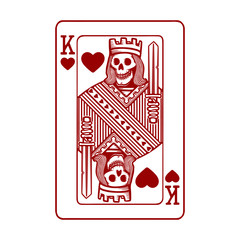 King of hearts graphic