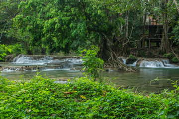 Waterfall chet sao noi national park