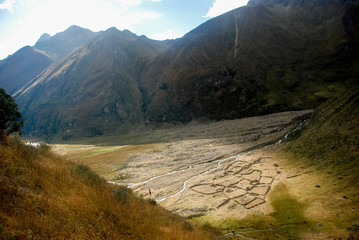 Landscape in Huayhuash