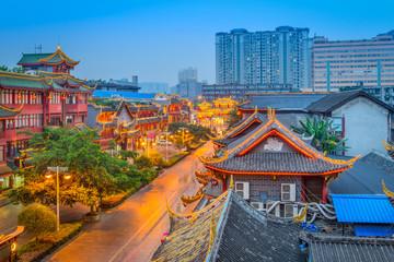 Chengdu, China Cityscape Wall mural