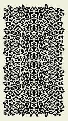 Animal print vector background