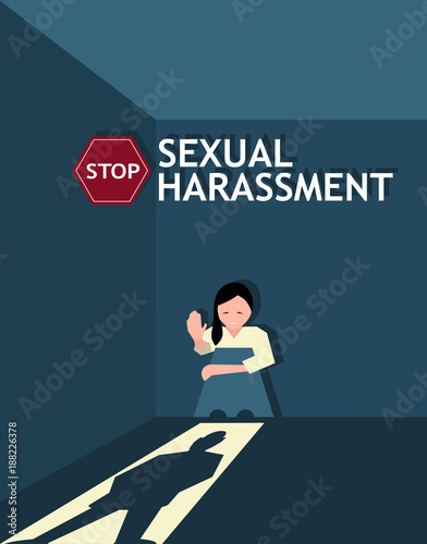 Psd template free download poster of sexual harassment